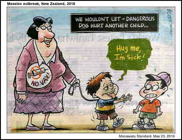 Measles outbreak, 2016