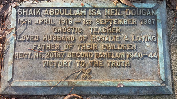 Abdullah Dougan's grave